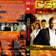 CSI: Miami – Season 2 (2004) R1 Custom Cover