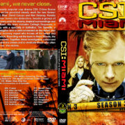 CSI: Miami – Season 3 (2005) R1 Custom Cover