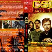 CSI: Miami – Season 4 (2006) R1 Custom Cover