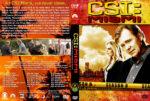 CSI: Miami – Season 8 (2010) R1 Custom Cover & labels