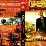 CSI: Miami - Season 9 (2011) R1 Custom Cover & labels