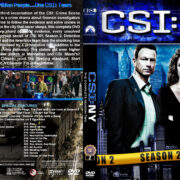 CSI: NY – Season 2 (2006) R1 Custom Cover
