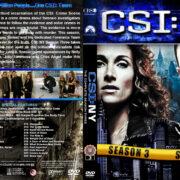 CSI: NY - Season 3 (2007) R1 Custom Cover
