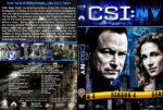 CSI: NY – Season 4 (2008) R1 Custom Cover & labels