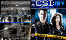 CSI: NY - Season 6 (2010) R1 Custom Cover & labels
