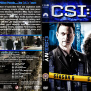 CSI: NY – Season 6 (2010) R1 Custom Cover & labels