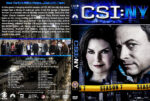 CSI: NY – Season 7 (2011) R1 Custom Cover & labels