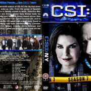 CSI: NY - Season 7 (2011) R1 Custom Cover & labels