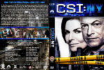 CSI: NY – Season 9 (2013) R1 Custom Cover & labels