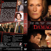 Damages - Season 2 (2009) R1 Custom Cover & labels