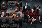 Damages – Season 4 (2011) R1 Custom Cover & labels