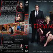 Damages – Season 4 (2011) R1 Custom Cover & labels