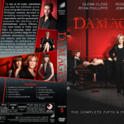 Damages – Season 5 (2012) R1 Custom Cover & labels