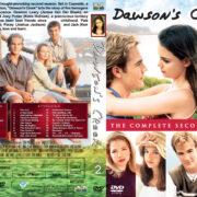 Dawson's Creek – Season 2 (1999) R1 Custom Cover & labels