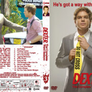 Dexter - Season 3 (2008) R1 Custom Cover & labels