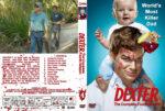 Dexter – Season 4 (2009) R1 Custom Cover & labels
