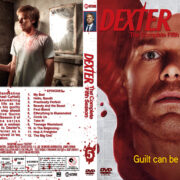 Dexter – Season 5 (2010) R1 Custom Cover & labels