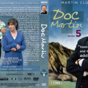 Doc Martin – Series 5 (2011) R1 Custom Cover & labels