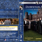 Downton Abbey – Season 3 (2013) R1 Custom Cover & labels