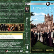 Downton Abbey – Season 4 (2014) R1 Custom Cover & labels