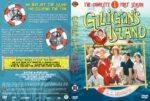 Gilligan's Island – Season 1 (1965) R1 Custom Cover & Labels