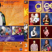 Glee - Season 3 (2012) R1 Custom Cover