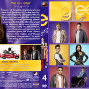 Glee – Season 4 (2013) R1 Custom Cover