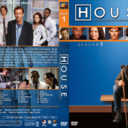 House M.D. – Season 1 (2005) R1 Custom Cover