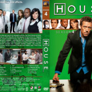 House M.D. – Season 4 (2008) R1 Custom Cover