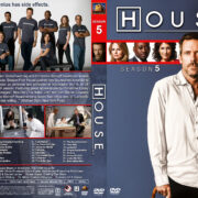 House M.D. – Season 5 (2009) R1 Custom Cover