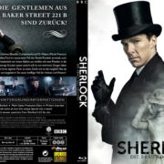 Sherlock – Die Braut des Grauens (2015) R2 Blu-Ray German Custom Cover & Label