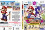 Mario And Sonic At The London Olympics 2012 (2011) Wii Custom USA