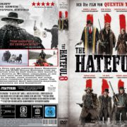 The Hateful 8 (2015) R2 GERMAN CUSTOM Cover