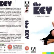 The Key (1983) R2 Blu-Ray Cover & Label
