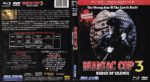 Maniac Cop 3 (1992) R1 Blu-Ray Cover + Label