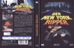New York Ripper (1982) R2 German Mediabook Cover & Label