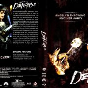Night of the Demons 2 (1994) R1 Blu-Ray Cover & Label