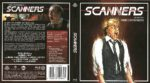 Scanners (1981) R2 German Blu-Ray Cover & Label