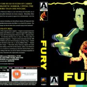 The Fury (1978) R2 Blu-Ray Covers & Label