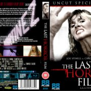 The Last Horror Film (1982) R2 Blu-Ray Cover & Label