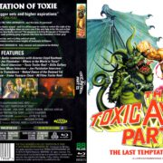 The Toxic Avenger 3 (1989) R2 Blu-Ray Cover & Label
