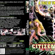 Citizen Toxie: The Toxic Avenger 4 (2000) R2 Blu-Ray Cover & Label
