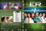 ER – Season 1 (1995) R1 Custom Cover & labels