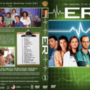 ER - Season 1 (1995) R1 Custom Cover & labels