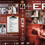 ER – Season 3 (1997) R1 Custom Cover & labels