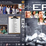ER – Season 7 (2001) R1 Custom Cover & labels