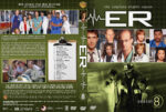 ER – Season 8 (2002) R1 Custom Cover & labels