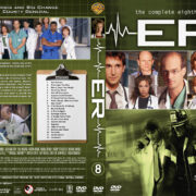 ER - Season 8 (2002) R1 Custom Cover & labels