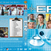 ER – Season 9 (2003) R1 Custom Cover & labels