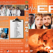 ER – Season 10 (2004) R1 Custom Cover & labels